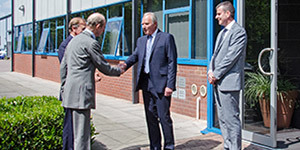 HRH The Duke of Kent visit